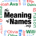 The Meaning of Names Mobile App Icon